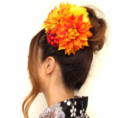 成人式卒業式の振袖に似合う花の髪飾り!選び方と最新ランキング。